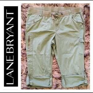 Lane Bryant Capri Pants